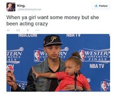 Cuteness Overload: The Absolute Funniest Riley Curry Memes Love Quotes For Fiance, Flirty Quotes For Him, Great Love Quotes, Funny Basketball Memes, Nba Funny, Basketball Stuff, Basketball Workouts, Girls Basketball, Basketball Legends