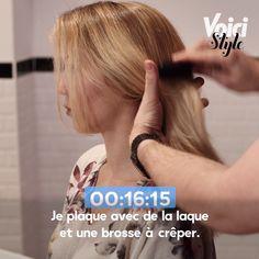Retrouvez la vidéo dans son intégralité sur Voici.fr ! Blake Lively, Voici, Fitbit, Board, Oil Slick Hair, My Hair, Hair Masks, Hair Care, Hairstyle Ideas