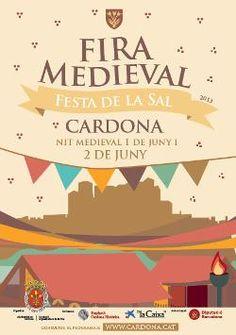 Fira Medieval i Fira de la Sal de Cardona (2013)