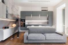 Luca Peralta Studio Design a Minimalist Apartment in the Historic Neighborhood of Prati