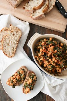 chick peas and spinach is a classic spanish tapas recipe but it also makes a great simple and healthy dinner. this version is gluten free.