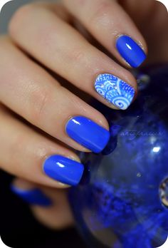 nail art stylo feutre porcelaine
