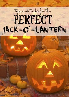 Tips and Tricks for the Perfect Jack-o-Lantern! Easy Pumpkin HACKS for Halloween and Fall!