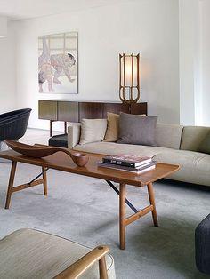 Mid Century Modern Interior - Albano Daminato by plastolux, via Flickr