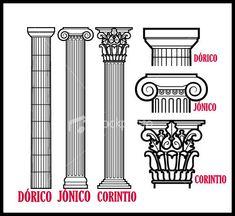 Columnas griegas                                                                                                                                                                                 Más