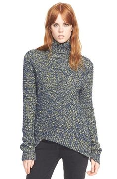 MARC BY MARC JACOBS Asymmetrical Turtleneck Sweater