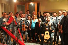 """Mariachi Nuevo Tecalitlan, Raymundo Coronado from Mariachi Mexicanisimo ,Johnathan Clark Curator of Mariachi Vargas Muesuem and Historian, Laura Sobrino (RIP)  """"Mariachi Queen"""" Carol Tellez, Owner and Producer of The Mariachi Channel  Richard Carranza Superindendent of SFUSD, and The man Lil Art.  Another Production Executed at Hyde Street Studios in SF"""