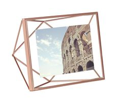 Umbra Prisma Picture Frame, 4 by 6-Inch, Copper | Gift Guide | For Teenage Girls | For Teen Girls | For Her | Affiliate