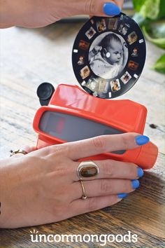 Create Your Own Reel Viewer Cherish days gone by with this grown-up version of one of childhood's greatest gadgets. Create Your Own Reel Viewer Cherish days gone by with this grown-up version of one of childhood's greatest gadgets. Bf Gifts, Boyfriend Gifts, Craft Gifts, Diy Gifts For Him, Anniversary Gifts For Boyfriend, Boyfriend Birthday Gifts, Gifts For Kids, Unique Gifts For Boyfriend, Homemade Anniversary Gifts