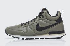 #Nike Internationalist Mid QS - Grey/Black #sneakers