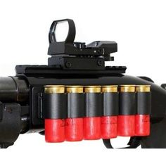 Trinity Tactical Shotgun Scope Mount, Shell Holder, and Reflex Sight Kit for Mossberg 500-590