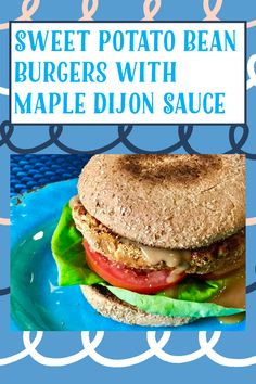 My Recipes, Gluten Free Recipes, Bean Cakes, Cooking Sweet Potatoes, Bean Burger, Delicious Burgers, Great Desserts, Easy Salads, Apple Crisp