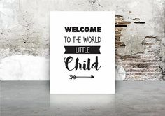 Welcome to the world little child Little Children, Kids, Baby Online, Welcome, Letter Board, World, Cover, A5, Children