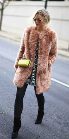 30 Different Ways To Wear Faux Fur