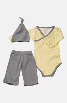 Petunia+Pickle+Bottom+'Social'+Hat,+Bodysuit+&+Pants+Set+(Baby)+available+at+#Nordstrom