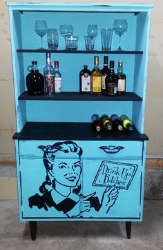 The BEST cabinet makeover EVER....  Ava Blake Creations