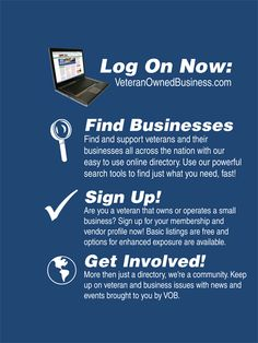 Veteran Owned Business Postcard (Side 2).