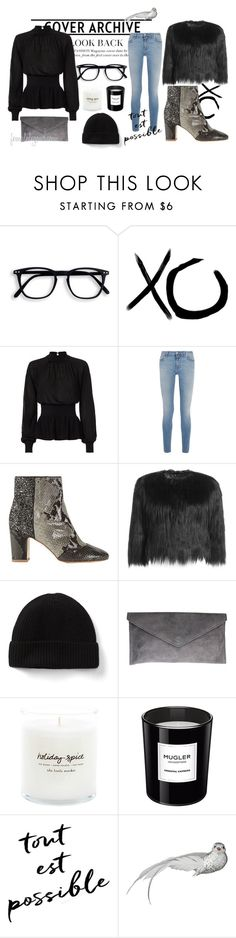 """""""Just because..."""" by femalelegend on Polyvore featuring xO Design, Exclusive for Intermix, Givenchy, Steffen Schraut, Thierry Mugler, Lene Bjerre and greetingsfromcopenhagen"""