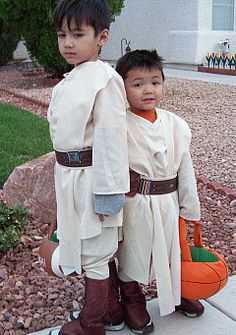 making kids star wars costumes