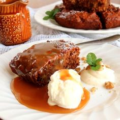 Golden Sticky Date, Toffee Pudding filled with walnuts, dates, sultanas & currants, under hot butterscotch sauce Hazelnut Meringue, Meringue Cake, Picnic Cake, Sugared Grapes, Sticky Date Pudding, Butterscotch Sauce, Toffee Pudding, Chocolate Biscuits, Caramel Recipes