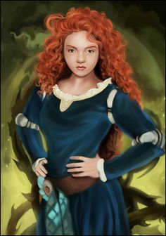 Merida Brave by MartaDeWinter.deviantart.com on @deviantART