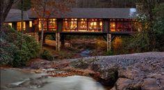 Vizuální prohlídka rezidence Knob Creek, kterou navrhlo studio Platt Architecture.
