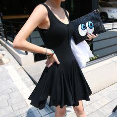 Lorelei Sleeveless Frilled Dress | YESSTYLE
