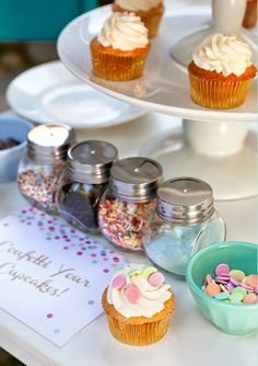 decorate your own cupcake party