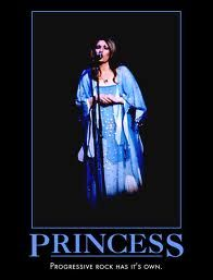 Princess - Now Progressive Rock Has It's own. YES, I agree. Annie Haslam!