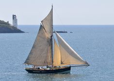 At the working boats championships in St Mawes, June 2010. Fantastic boats; and the light through the sails...