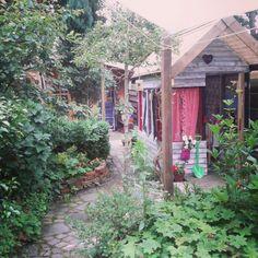 "@Recyclara's photo: ""Onze groene (speel)tuin. In zon en regen. #zomer #synchroonkijken"""