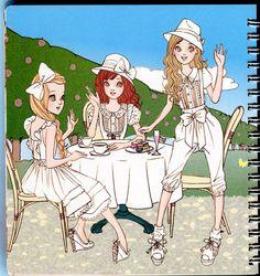 Oshare Note Liz Lisa - Art by Naoki Watanabe - Mama Mia - Веб-альбомы Picasa