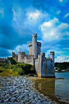 Blackrock Castle, Ireland The original tower was built by the citizens of Cork in 1582 to guard the water approach to the city from pirates and other raiders.
