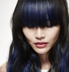 Blue Ombre #mycolorfulhair #lorealpro #nellemanigiuste #blue