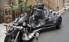 Skull Decked Trike | Totally Rad Choppers