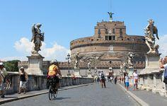 Ponte Sant'Angelo #Rome #italy