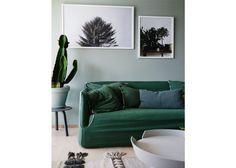 Binnenkijken in een huis vol groen