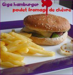 Quoi de mieux qu'un bon hamburger bien chaud et bien gourmand pour se faire plaisir! Et si en plus il est light et fait maison, c'est encore meilleur! J'ai choisi de faire le miens à base de steak de poulet façon bouchère (que l'on trouve dans les supermarchés),...