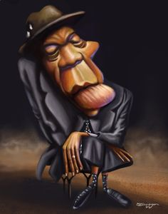 John Lee Hooker ~ by tiaggotampinha