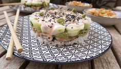 Sushi Torte