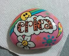 Personalized Painted Rock
