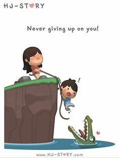 Hj story never giving up on you