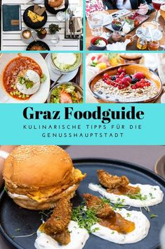 Eating & Drinking in Graz - Restaurant Tips for the capital of enjoyment Austria Food, Austria Travel, Beste Burger, Graz Austria, European City Breaks, Brunch, European Destination, Eat, Ethnic Recipes