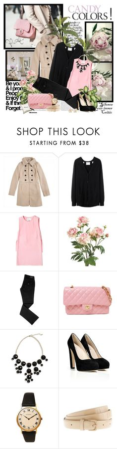 """Candy colors!"" by helleka ❤ liked on Polyvore featuring Bellagio, 3.1 Phillip Lim, PLANT, Peony, Chanel, Le Silla, Juvenia, J.Crew, Charlotte Russe and suede pumps"