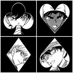 This is pretty cool but Shinichi is meant to be the Ace of Spades and not Kaito just like it said in the movie 14th Target. :)