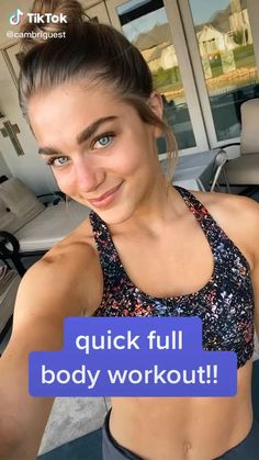 Workouts For Teens, Gym Workout For Beginners, Fitness Workout For Women, Body Fitness, Teen Workout Plan, Hiit Workout At Home, Abs Workout Video, Quick Full Body Workout, Slim Thick Workout