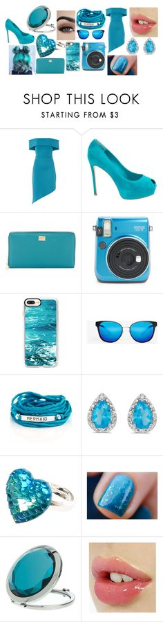 """""""#6"""" by astrangeevent on Polyvore featuring Gianvito Rossi, Dolce&Gabbana, Casetify, Michael Kors, Blooming Lotus Jewelry, Amanda Rose Collection and Miss Selfridge"""