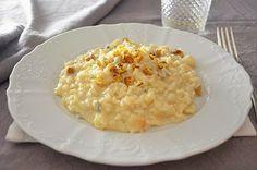 La ricetta del risotto gorgonzola, pere e noci è facile da fare ma molto sfiziosa. Il risotto gorgonzola, pere e noci è un primo piatto dal gusto morbido e delicato.
