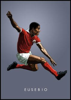 Eusebio of Benfica wallpaper.