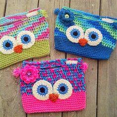 Cutie Hootie Owl Purse by Ann Bacon
